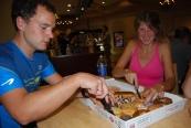 The fairwell Krispy Kremes
